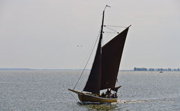 Historic fishing boat Zeesboat Stock Photos