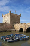 Historic Fishing Harbour Stock Images