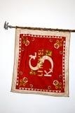 The historic flag of Czech Sokol Organization Royalty Free Stock Photo