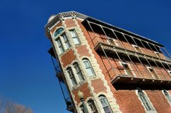 Historic Flat Irons Building stock images