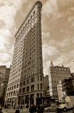 Historic Flatiron Building Stock Photography