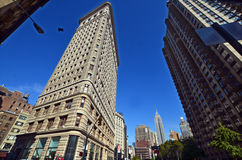 Historic Flatiron Building Royalty Free Stock Photos