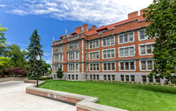 Historic Folwell Hall on the Campus of the University of Minneso Royalty Free Stock Image