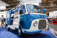 Historic Ford Taunus Transit Van from 1960. S at the 65th IAA Commercial Vehicles fair 2014 in Hannover, Germany Stock Photography