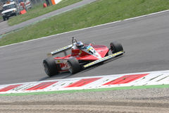 Historic formula 1. Historic formula one, during a race in Monza, Italy Royalty Free Stock Images