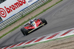 Historic formula 1. Historic formula one, during a race in Monza, Italy Royalty Free Stock Photo
