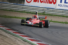 Historic formula 1. Historic formula one, during a race in Monza, Italy Stock Photo