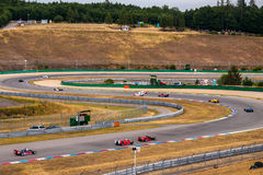 Historic formula cars Royalty Free Stock Images