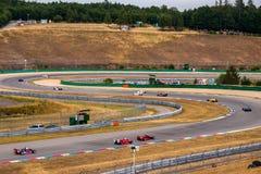 Historic formula cars Royalty Free Stock Images