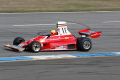 Historic formula one car, ferrari 312t Royalty Free Stock Photos
