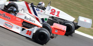 Historic Formula One Grand Prix Cars Royalty Free Stock Image