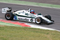 Historic formula one williams Royalty Free Stock Photography