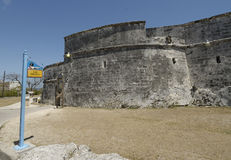 A historic fort in the Bahamas Royalty Free Stock Photos