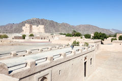 Historic fort in Fujairah. United Arab Emirates royalty free stock photography