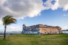 Fort San Juan De La Cruz also known as El Canuelo from San Juan Puerto Rico royalty free stock photos