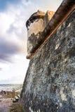 Fort San Juan De La Cruz also known as El Canuelo from San Juan Puerto Rico royalty free stock image
