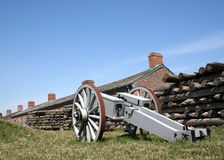 Historic Fort York. In Toronto royalty free stock photos