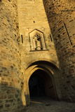 Historic fortified city of Carcassone Stock Photography