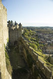 Historic fortified city of Carcassone, France Royalty Free Stock Images