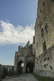 Historic fortified city of Carcassone, France Royalty Free Stock Photography