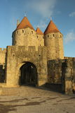 Historic Fortified City of Carcassonne Stock Images