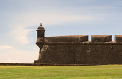 Historic fortress Stock Images