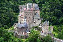 Historic fortress in Moselle valley Royalty Free Stock Photo
