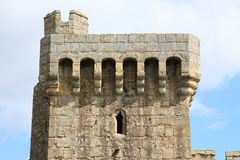 Historic fortress tower Stock Images