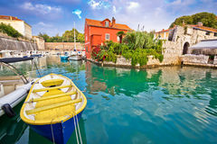 Historic Fosa bay in Zadar Royalty Free Stock Photography