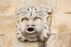 Historic fountain in Dubrovnik Royalty Free Stock Photo