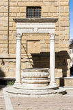 Historic fountain in Pienza Royalty Free Stock Image