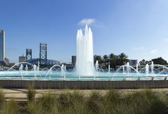 Historic Friendship Fountain in Jacksonville, Florida Stock Images