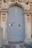 Historic front door Stock Images