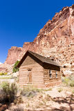 Historic Fruita School stock photo
