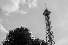 Historic funkturm tower berlin germany Stock Photography
