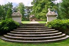 Historic garden Stock Image