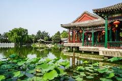 Historic Garden of Beijing, China Royalty Free Stock Photos