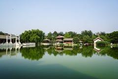 Historic Garden of Beijing, China Stock Images