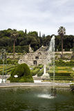 Historic Garden Garzoni Collodi. Is one of the most important italian gardens royalty free stock image