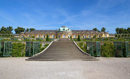 Historic gardens and palace architecture in Potsdam Stock Photo
