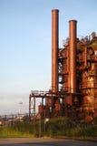 Historic Gasworks Park, Lake Union, Seattle Stock Photo