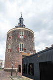 Historic gate in Enkhuizen in North Holland stock photography