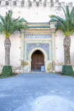 Historic Gate in Meknes, Morocco Royalty Free Stock Image