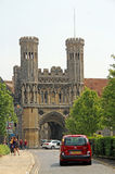 Historic gateway towers Royalty Free Stock Photos