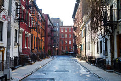Historic Gay Street in New York City Royalty Free Stock Photo