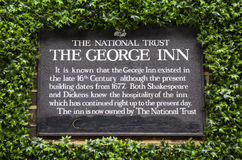 The Historic George Inn in London Stock Image