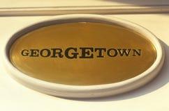Historic Georgetown in Washington, DC Stock Photo