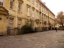 Historic Georgian terraced buildings in Bath Royalty Free Stock Photos