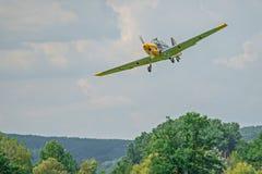 Historic german bomber Zlin 205 Stock Photos