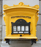 Historic german mailbox Royalty Free Stock Photography